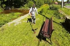 Radni wykosili trawę Świeradów Zdrój 07