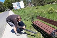 Radni wykosili trawę Świeradów Zdrój 08