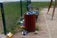 Lwówek Śląski. Syf w parku miejskim 14