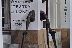 Teatry ulicze - wystawa w ZSOiZ 4