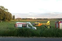 Trzy osoby ranne w wypadku w Dłużcu 1