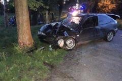 Trzy osoby ranne w wypadku w Dłużcu 2