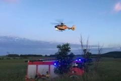 Trzy osoby ranne w wypadku w Dłużcu 3