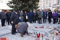 Gryfów Śląski w hołdzie Pawłowi Adamowiczowi  05