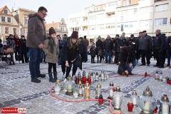 Gryfów Śląski w hołdzie Pawłowi Adamowiczowi  08