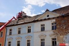 Wali sie budynek w centrum Wlenia 07