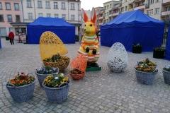 Wielkancne dekoracje w Lwówku Śląskim 1