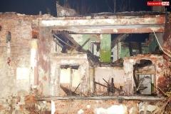 Wleń walcy się budynek Basztowej 11
