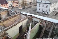 Wleń walcy się budynek Basztowej 12