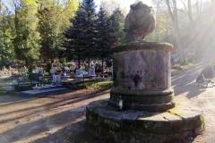 Lwówek Śląski Pomnik nagrobny Jacobine Ouden-Liepner