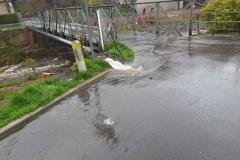 Świeradów- Zdrój wybijająca kanalizacja 1