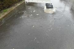 Świeradów- Zdrój wybijająca kanalizacja 3