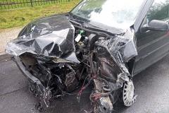 Wypadek-chmielen-VW-Golf-1