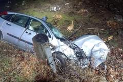 Wypadek na drodze Świeradów - Szklarska 1