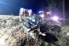 Wypadek na drodze Świeradów - Szklarska 2