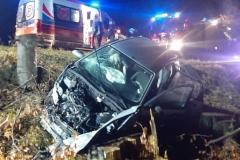 Wypadek na drodze Świeradów - Szklarska 4