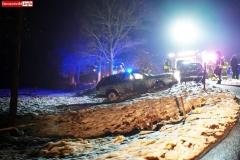 Wypadek w Łupkach koło Wlenia 1