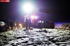 Wypadek w Łupkach koło Wlenia 2
