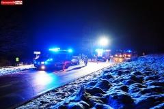 Wypadek w Łupkach koło Wlenia 3