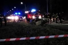 Wypadek w Mroczkowicach  /fot. Mateusz Szumlas /