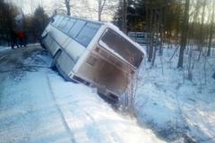 Wypadek w Olesznej Podgórskiej 1