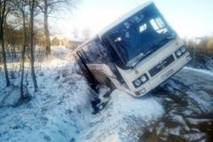 Wypadek w Olesznej Podgórskiej 2