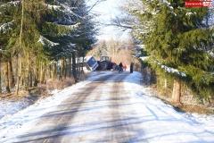 Wypadek w Olesznej Podgórskiej 3