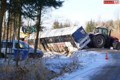 Wypadek w Olesznej Podgórskiej 4