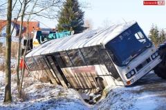 Wypadek w Olesznej Podgórskiej 5