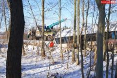 Wypadek w Olesznej Podgórskiej 6