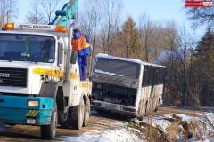 Wypadek w Olesznej Podgórskiej 9