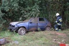 Wypadek w Radoniowie - Fiesta 1