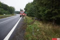 Wypadek w Radoniowie - Fiesta 2