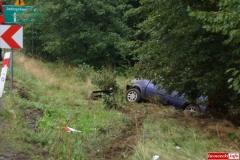 Wypadek w Radoniowie - Fiesta 3