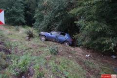 Wypadek w Radoniowie - Fiesta 4
