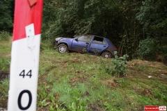 Wypadek w Radoniowie - Fiesta 5