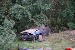 Wypadek w Radoniowie - Fiesta 7