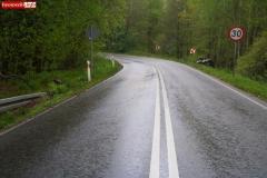 Wypadek w Żerkowicach na DW 297 03