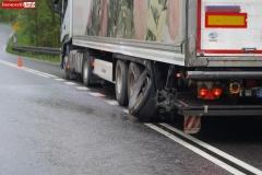 Wypadek w Żerkowicach na DW 297 10