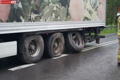 Wypadek w Żerkowicach na DW 297 11