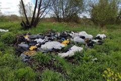 Lwówek Śląski Żerkowice odpady samochodowe wysypisko śmieci 5