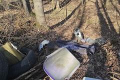 Wysypisko śmieci koło Dworka 21 4