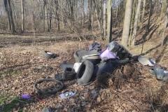 Wysypisko śmieci koło Dworka 21 5