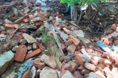 Gruz i śmieci w lesie w Bystrzycy 05