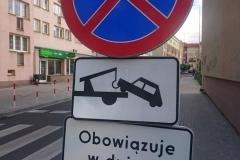 Lwówek Śląski zmiana organizacji ruchu zakaz zatrzymywania 01