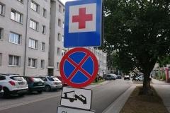 Lwówek Śląski zmiana organizacji ruchu zakaz zatrzymywania 02
