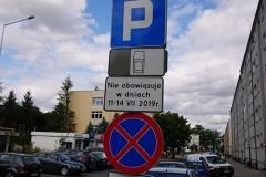 Lwówek Śląski zmiana organizacji ruchu zakaz zatrzymywania 03