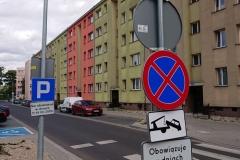 Lwówek Śląski zmiana organizacji ruchu zakaz zatrzymywania 04