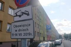 Lwówek Śląski zmiana organizacji ruchu zakaz zatrzymywania 05