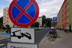 Lwówek Śląski zmiana organizacji ruchu zakaz zatrzymywania 07